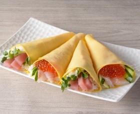 たまご手巻き寿司